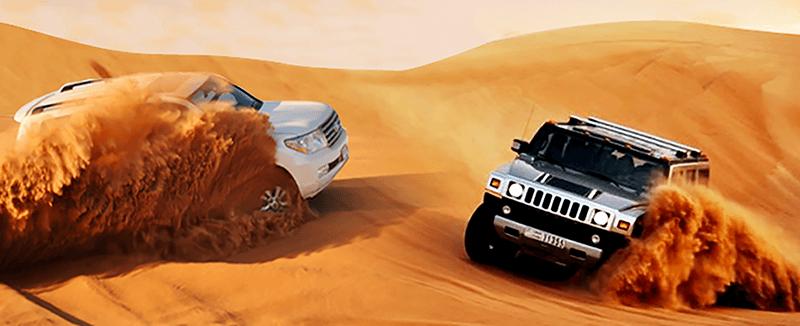 Dubai Desert Safari Dunes - Luxuria Tours & Events