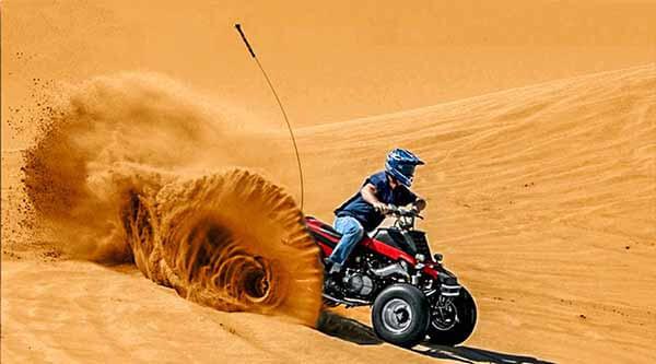 Dubai Quad Safari - Luxuria Tours & Events
