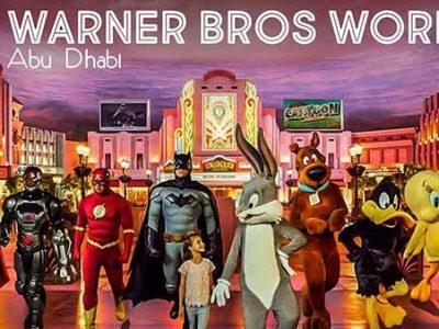 Warner Bros. World AD - Luxuria Tours & Events