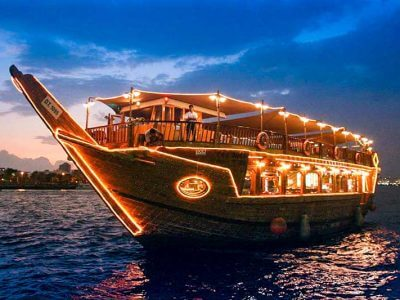Dubai Creek Cruise Dinner - Luxuria Tours & Events