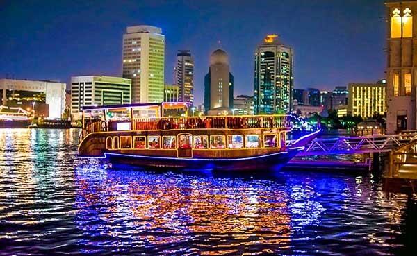 Dubai Creek Cruise Dinner - Luxuria Tours & Events