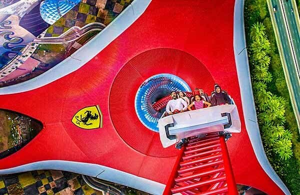 Ferrari World AD Games - Luxuria Tours Events