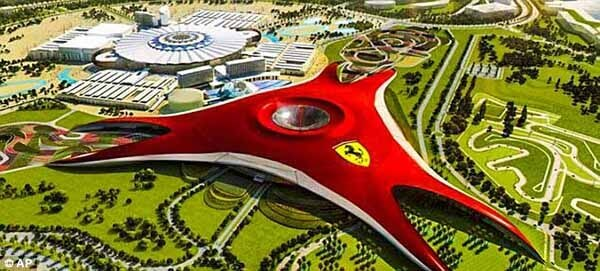 Ferrari World AD - Luxuria Tours Events