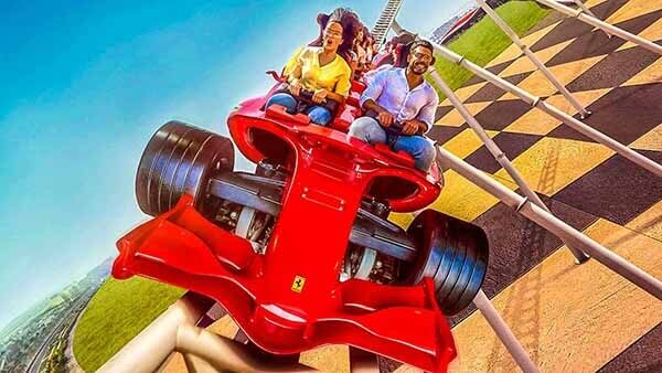 Formula Rossa, Ferrari World AD - Luxuria Tours Events
