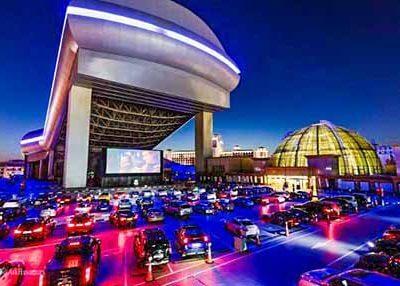سينما للسيارات في مول الإمارات