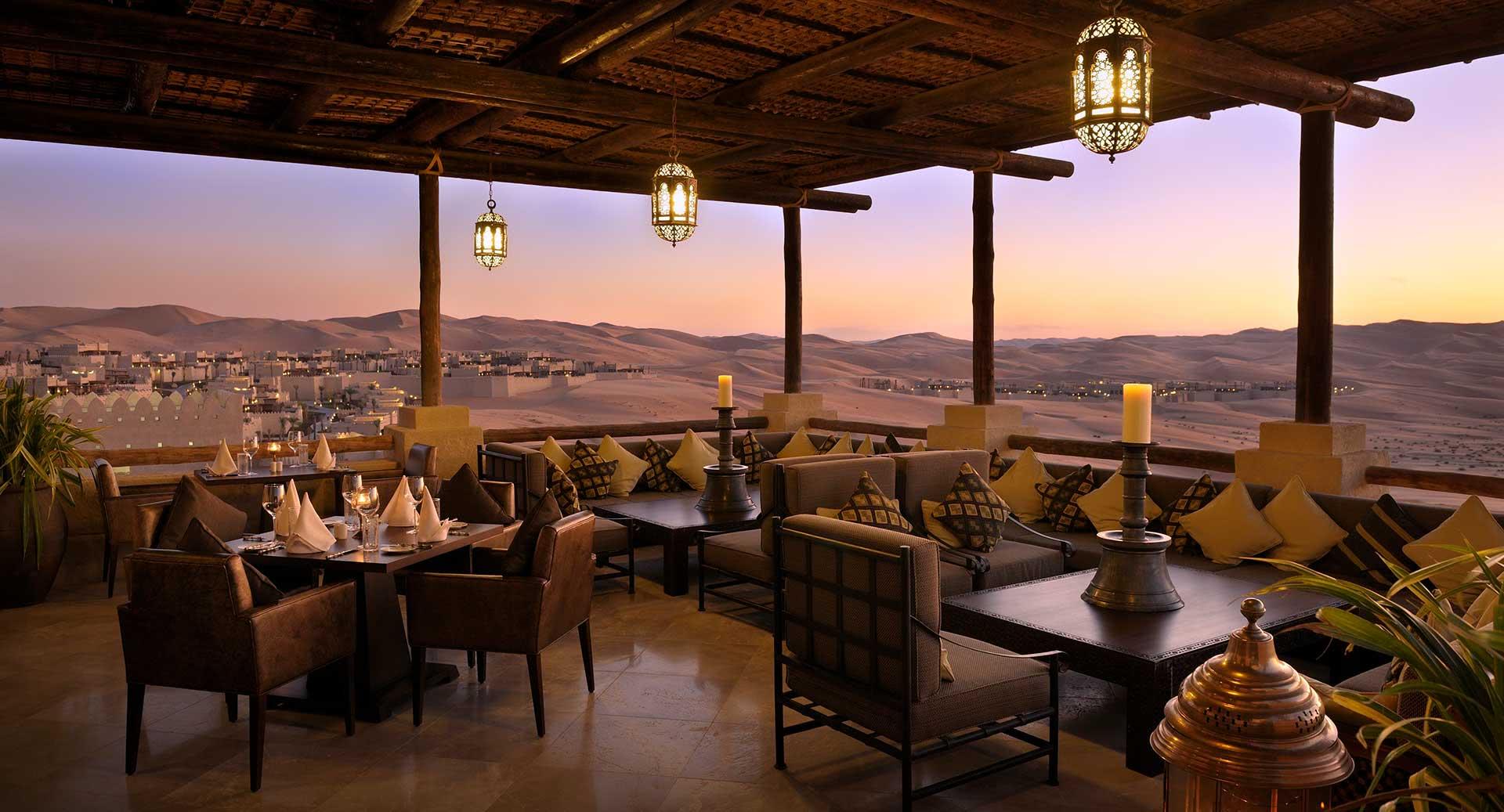 منتجع قصر السراب - مطعم سهيل - Luxuria Tours