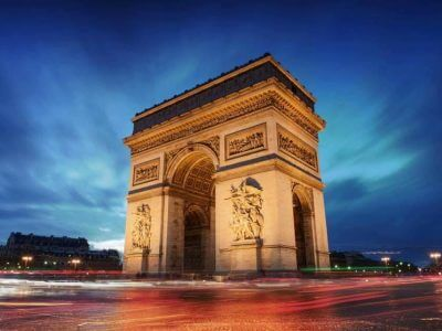 Arc de Triomphe, Parris, France - Luxuria Tours & Events