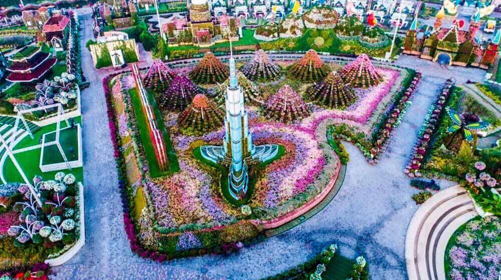 Dubai Miracle Garden - Luxuria Tours Events