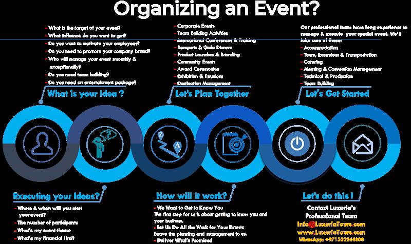 Events Management - Luxuria Tours