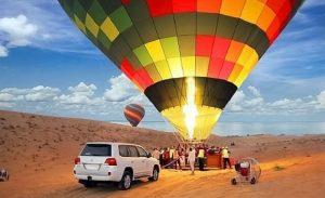 Hot Air Balloon - Luxuria Tours& Events