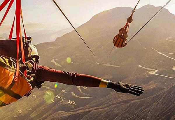 Jebel Jais Zipline - Luxuria Tours & Events