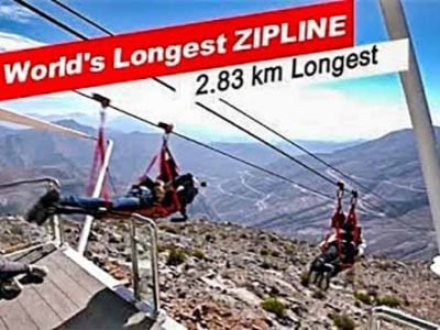 Jebel Jais Zipline - Luxuria Tours & Events