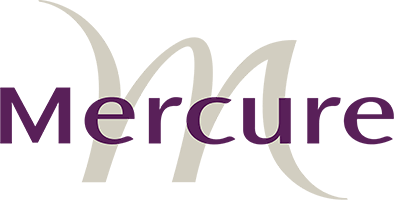 Mercure logo Hotels - Luxuria Tours & Events