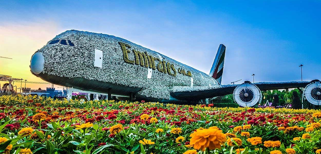 Miracle Garden - Airbus 380 - Luxurai Tours & Events