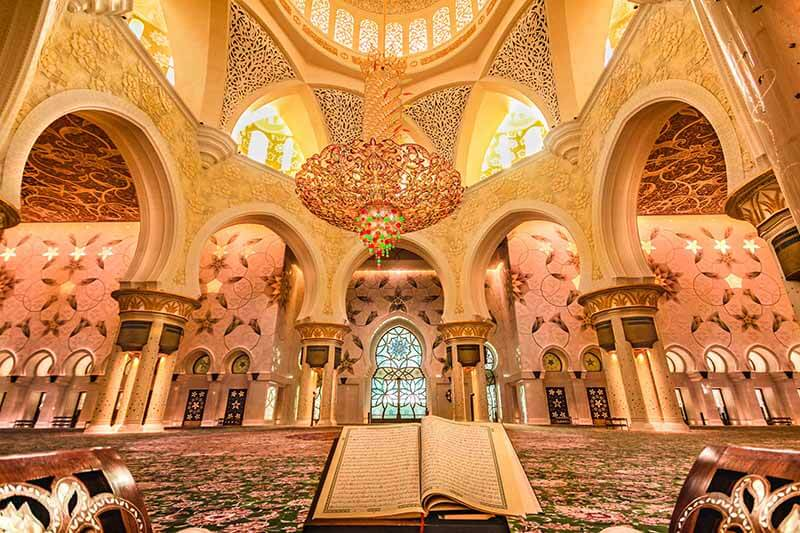 Shiek Zayed Mosque, Main Hall, AD, UAE