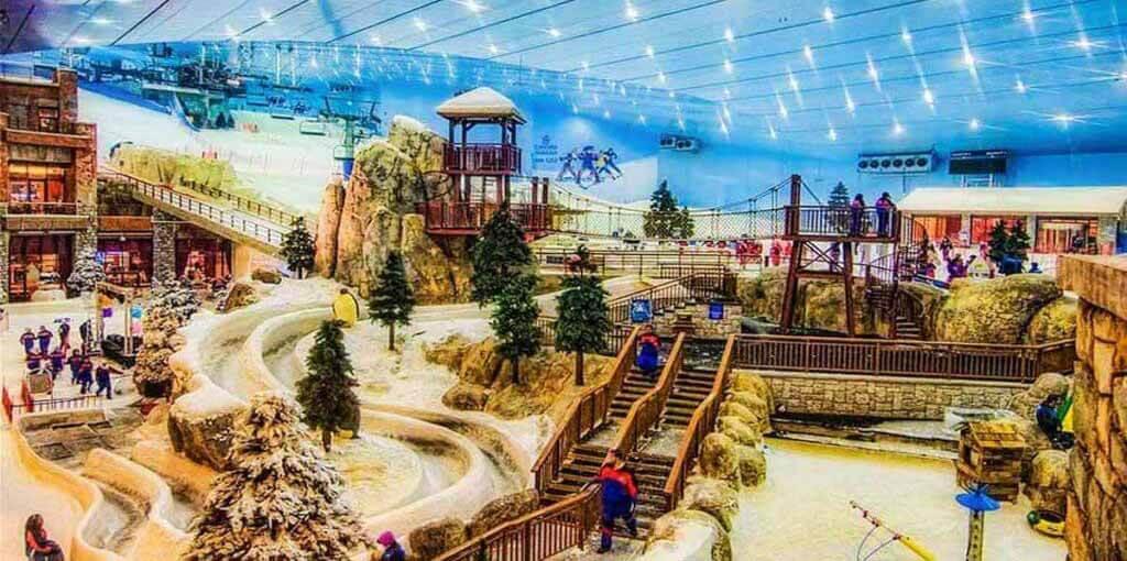 Ski Dubai - Luxuria Tours & Events
