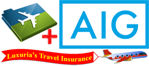 Travel Insurance Logo - Luxuria Tours & Events