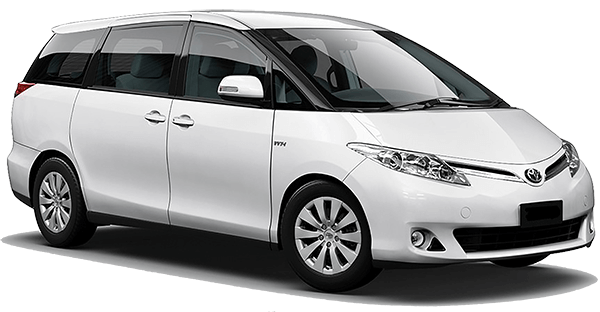 Toyota Previa - Luxuria Tours & Events