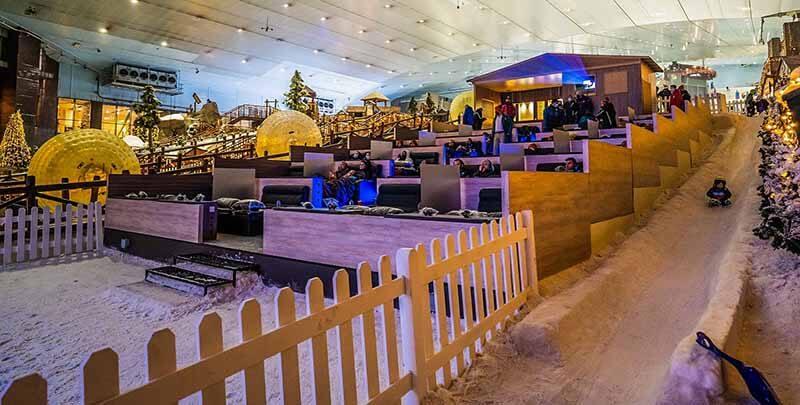 Snow Cinema - Luxuria Tours & Events